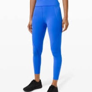 "Free to Speed High-Rise Tight 25"" Wild Bluebell"